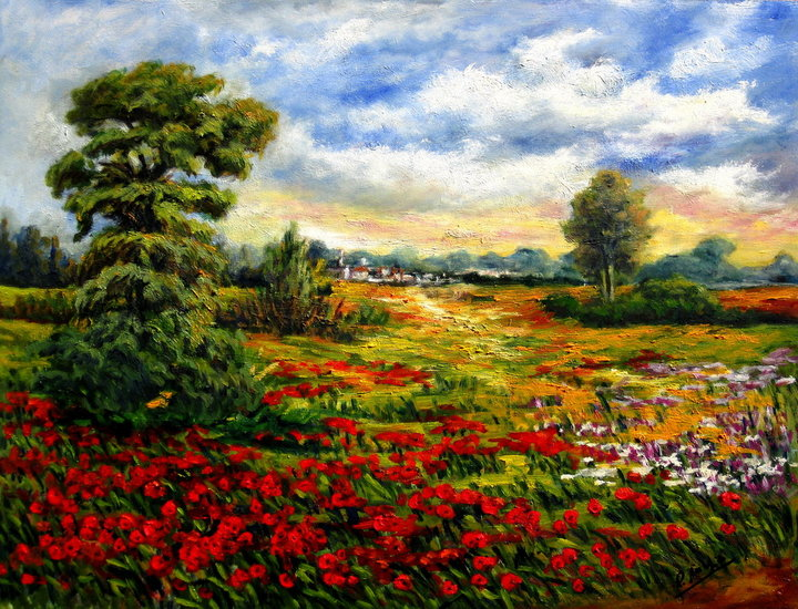 Artwork >> Remigio Megías García >> The colors of spring