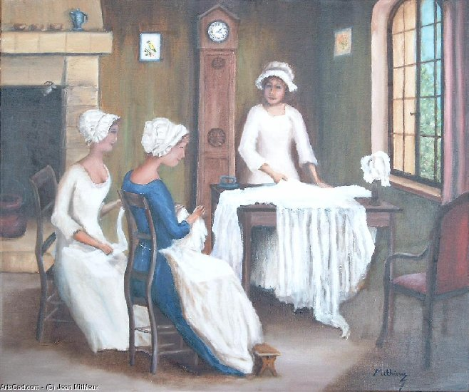 Artwork >> Jean Mithieux >> the seamstresses
