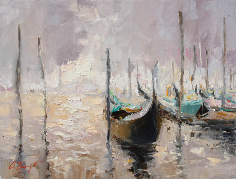 Artwork >> Oleg Trofimov >> Venetian sketch