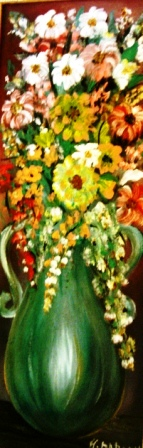 Artwork >> Dadoun Hayat >> bouquet of flowers