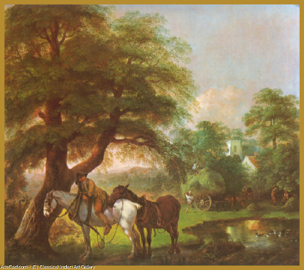 Artwork >> Classical Indian Art Gallery >> By - Gainsborough Thomas - Print