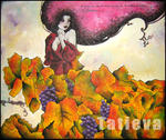 Tatieva, Artiste Peintre - One afternoon in the vineyard