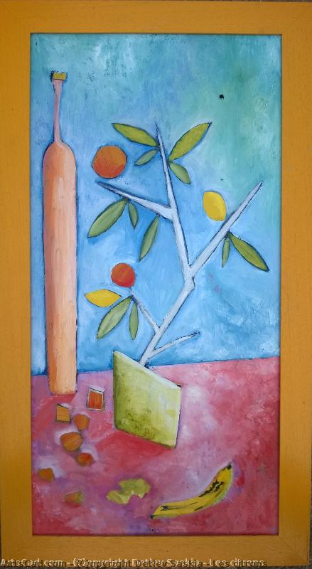 Artwork >> Romuald Gamelin >> The lemons