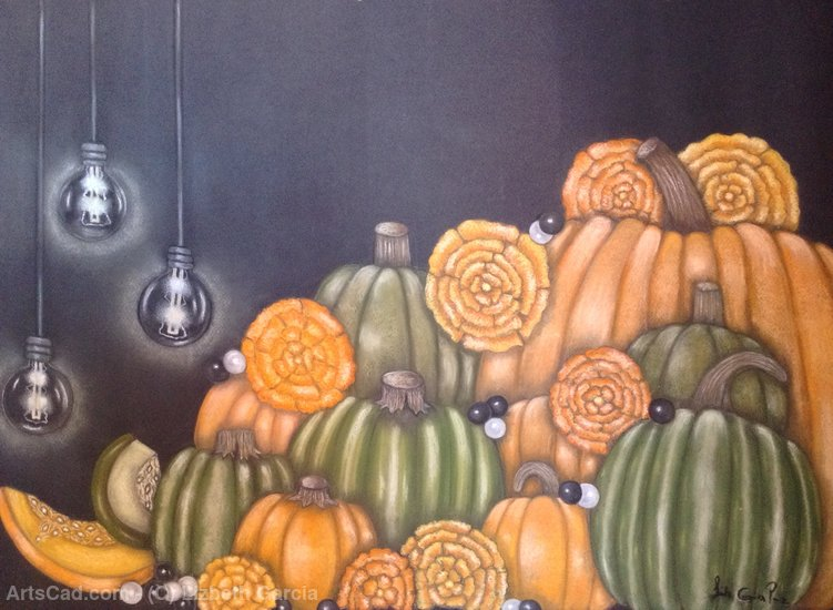 Artwork >> Lizbeth Garcia >> Pumpkins