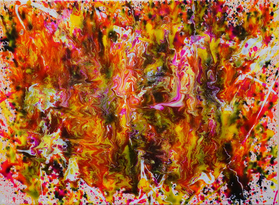 Artwork >> Kellianne Obrien >> Ablaze