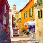 Alain Demarte - Villefranche ALLEY OF THE CHURCH