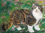 Zhen Lianxiu - beautiful cat
