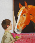 Jean-Claude Selles Brotons - tenderness -   out the  equine  up and  The Kid
