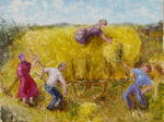 Claude Cette - The harvest