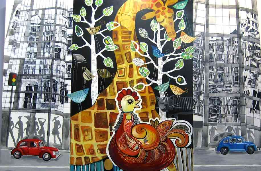 Artwork >> Yelena Dyumin >> City jungle