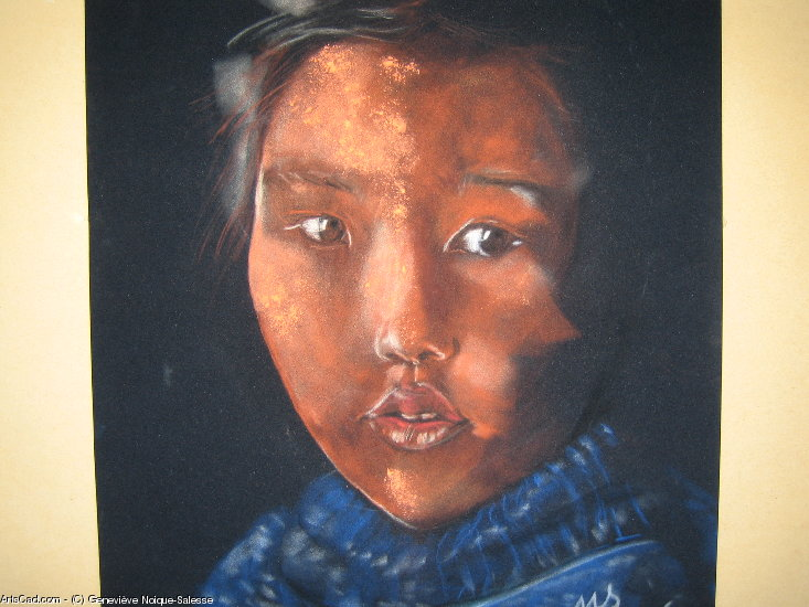 Artwork >> Geneviève Noique-Salesse >> dust d'étoile in mongolia