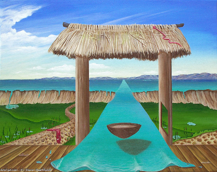 Artwork >> Sharon Ebert Furuta >> Kava Flow