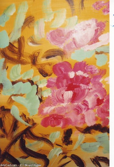 Artwork >> Bicard Wable >> flower painting SOLD.