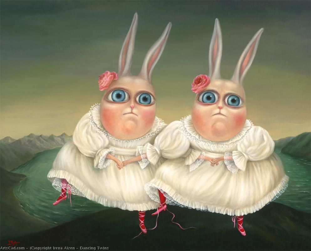 Artwork >> Irena Aizen >> Dancing Twins