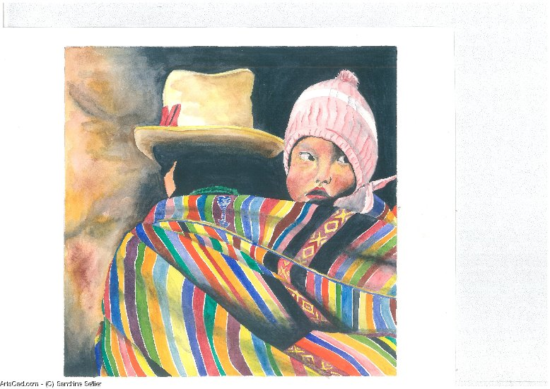 Artwork >> Sandrine Sellier >> Baby peruvian