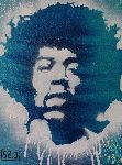Slave 2 Point 0 - Hendrix street art as by slav 2 . 0