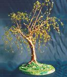 Sal Villano Wire Tree Sculpture - Elm on Lawn -  Wire Tree Sculpture
