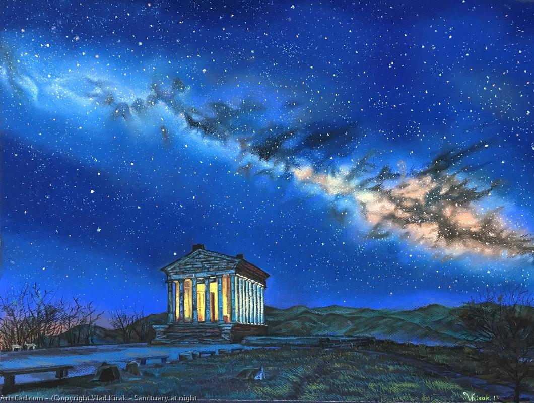 Artwork >> Vlad Kirak >> Sanctuary at night