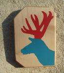 Daniel Requejo - deer red  up and  with blue