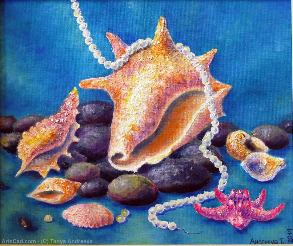 Artwork >> Tanya Andreeva >> oil painting sea treasures