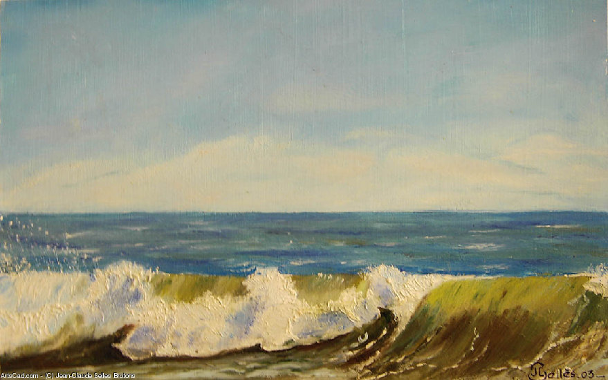 Artwork >> Jean-Claude Selles Brotons >> surf green