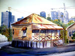 Inspirational Paintings - OLD AND NEW BRISBANE