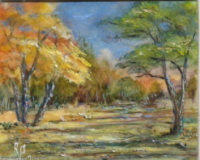 Artwork >> Rita Palm >> Autumn Leaves