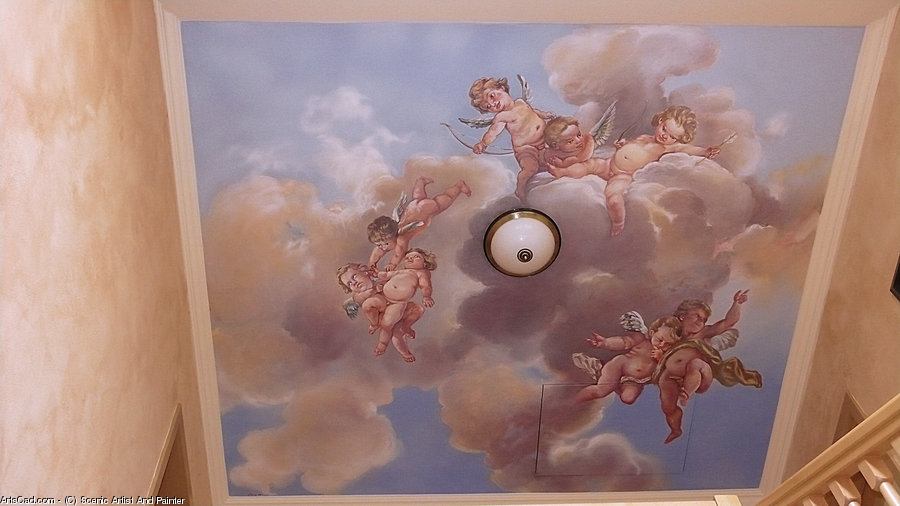 Artwork >> Scenic Artist And Painter >> Little Angels