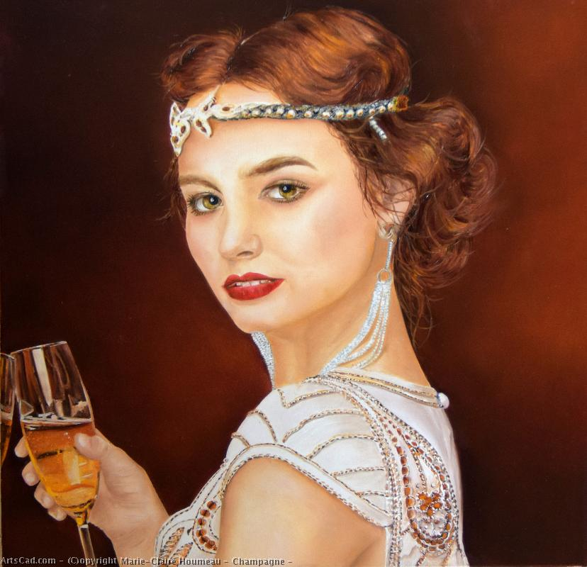 Artwork >> Marie-Claire Houmeau >> Champagne !
