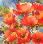 Francoise Galland - POPPIES