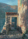 Vladimir Silenko - Door with views of the bay