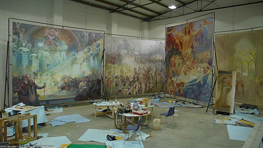 Artwork >> Scenic Artist And Painter >> Commissioned Advertising Painting