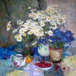 Alexey Dmitriev - Camomilles and corn-flowers