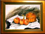 Therese Massot - Three apples
