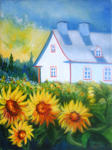 Denise Gagnon - Sunflowers