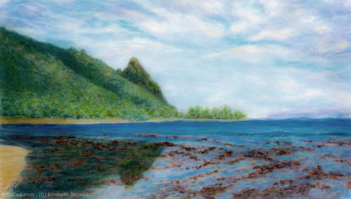 Artwork >> Kenneth Grzesik >> Reef Walk