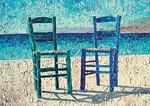 Niels Febber Andersen - Two Chairs, Lesbos, Greece