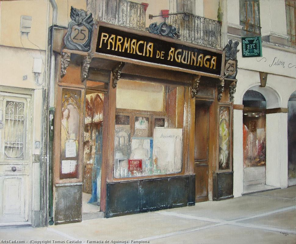 Artwork >> Tomas Castaño >> Pharmacy of Aguinaga-Pamplona