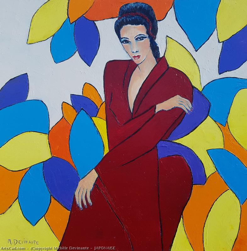 Artwork >> Michèle Devinante >> Japanese woman