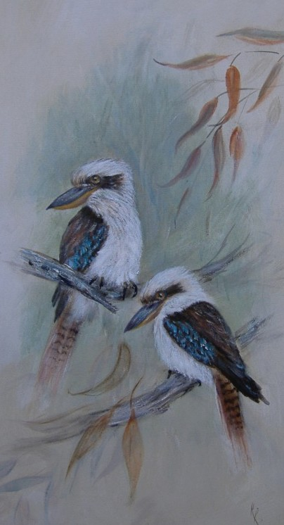 Artwork >> Rita Palm >> Birds of a Feather