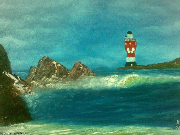 Artwork >> Rolf Exner >> Lighthouse and that Marine