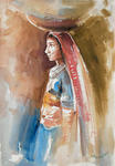 Classical Indian Art Gallery - VILLAGE DAMSEL