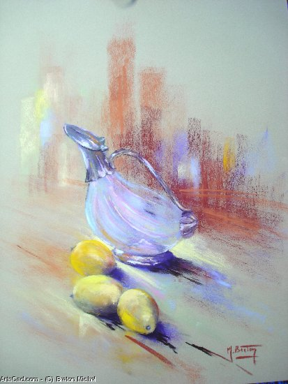 Artwork >> Breton Michel >> Three Lemons