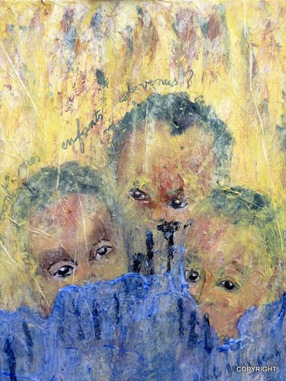Artwork >> Mireille Dubois-Vanhove >> What are my childrens become ?
