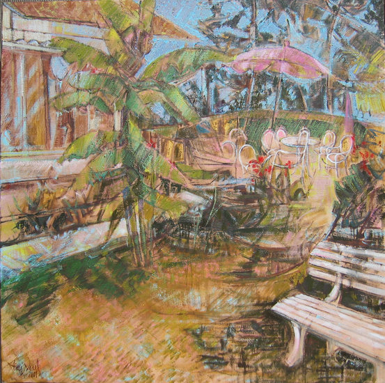 Artwork >> Aimé Venel >> the garden rochettes