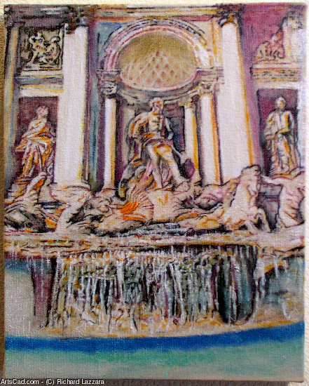 Artwork >> Richard Lazzara >> trevi fountains