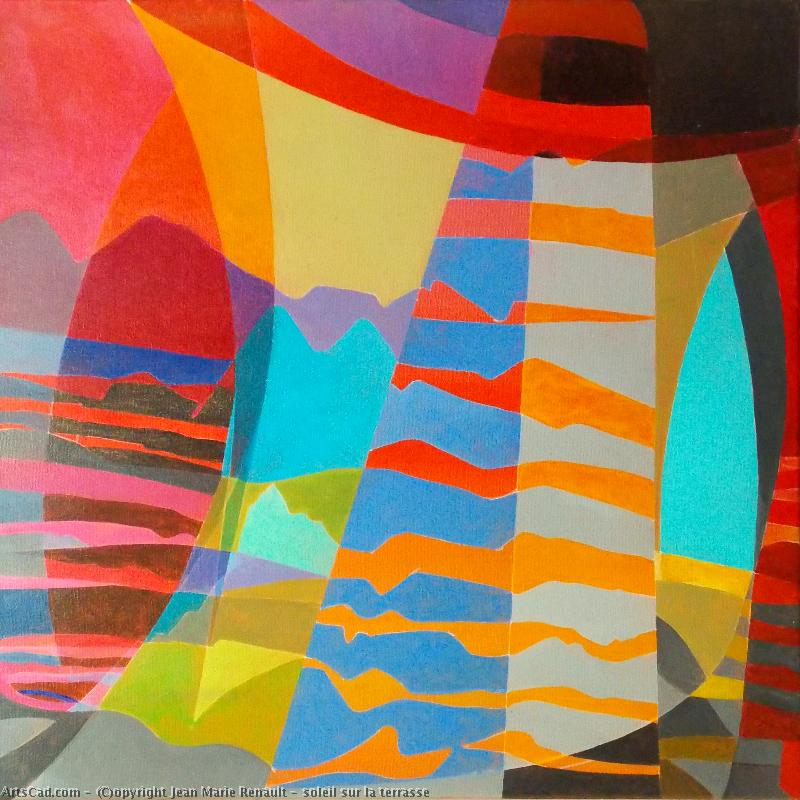 Artwork >> Jean Marie Renault >> sun there  terrace