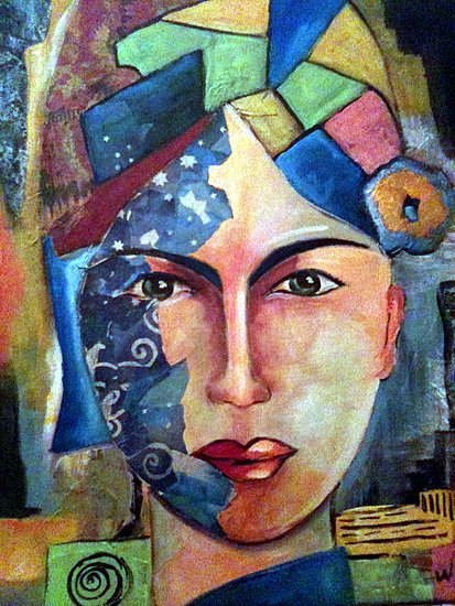 Artwork >> Annie Predal >> Color 's woman ( sold. )