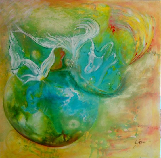 Artwork >> Christine Deschamps >> The 4   elements