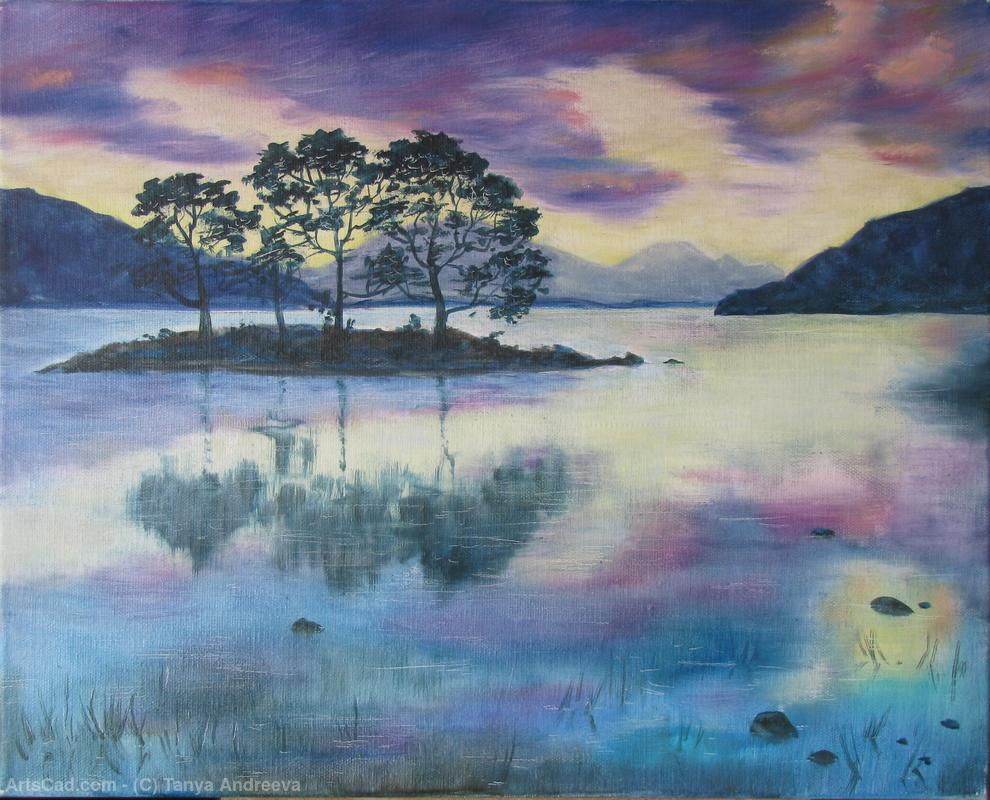 Artwork >> Tanya Andreeva >> oil painting still water